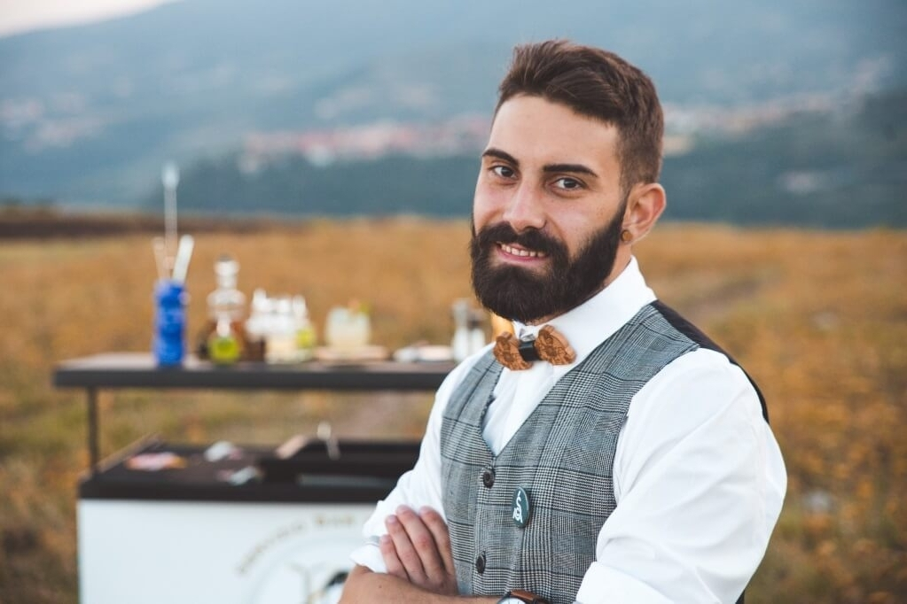 Bar Manager Paolino Nigro